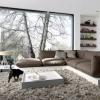 Подіум в квартирі як оригінальна прикраса сучасного дизайнерського проекту