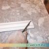 Поклейка стельових багетів своїми руками: майстер-клас з фото