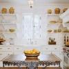 Полиці для кухні як складова оригінального інтер'єру та практичне доповнення для господині