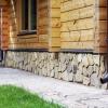 Послідовність робіт з оздоблення фундаменту будинку під камінь