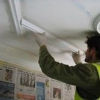 Приступаємо до процесу шпаклівки стелі
