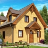 Як створюються і реалізуються проекти двоповерхових будинків з бруса?