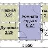 Проекти одноповерхової лазні з бруса