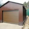 Профнастил: ремонт та одночасне удосконалення гаража