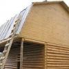 Виконуємо розрахунок ламаної мансардного даху