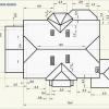 Розрахунок площі двосхилим даху і кількості матеріалів для установки покрівлі