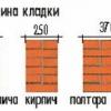 Розрахунок товщини стіни своїми руками