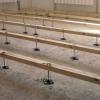 Регульовані підлоги своїми руками з використанням лаг і фанери