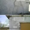 Ремонт тріщин в стіні гаража