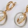 З чим носити і як вибрати золоті сережки з перлами?