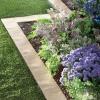 Садові бордюри для ділянки: облагороджуємо доріжки і клумби