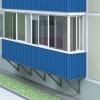 Обшивка балкона профнастилом: нова тенденція
