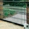 Ворота відкатні своїми руками: креслення, обшивка, установка