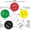Схема фен шуй здоров'я по п'яти стихіям