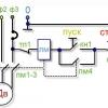 Схема підключення пускача