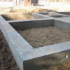 Схема укладання залізобетонних шпал в фундаменті