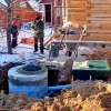 Схеми систем каналізації заміського або приватного будинку