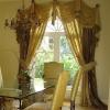 Штори на арочні вікна: ідеї оформлення незвичайних віконних прорізів