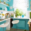 Синя кухня - ваш затишний куточок