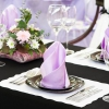 Скатертини і серветки на стіл: правила вибору, оформлення та сервірування
