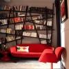 Красиві і незвичайні книжкові полиці в інтер'єрі