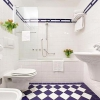 Створюємо цікавий дизайн плитки у ванній