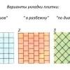 Способи укладання плитки у ванній: три основних плюс модифікації