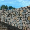 Будуємо паркан з натурального каменю своїми руками