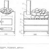 Будівництво печі для лазні