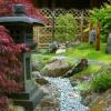 Сухий струмок - ідилія в саду