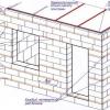 Технологія зведення стін з піноблоків