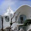 The conch shell house - будинок у формі морської раковини