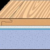 Укладання паркетної дошки та ламінату плаваючим способом