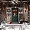 Прикраса ділянки до нового року: казка у дворі