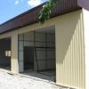 Установка гаража з листів полікарбонату