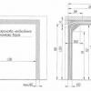 Установка секційних воріт з притолокой від 100 до 200 мм