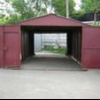 Установка залізного гаража