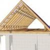 Пристрій двосхилим даху: основні елементи