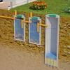Пристрій поглинаючих і герметичних вигрібних ям