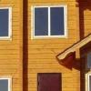 Утеплення дерев'яного будинку зовні пінополістиролом
