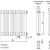 Вузли для під'єднання радіаторів з нижнім підключенням