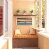 Варіанти обробки балкона