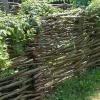 Види і технологія виготовлення парканів плетених