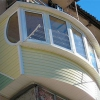 Види матеріалів для зовнішньої обробки балкона