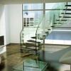 Гвинтові сходи в інтер'єрі: досконалість дизайнерських задумок