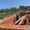 Зведення стіни з цегли