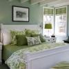 Зелена спальня: особливості оформлення спальні в зеленому кольорі