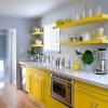 Жовта кухня - освітлить і пожвавить ваш будинок