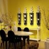 Жовтий колір в інтер'єрі - теплий і сонячний